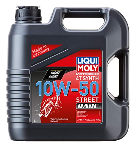 LIQUI MOLY 1686 Racing Synth 4T Motoröl 10 W-50