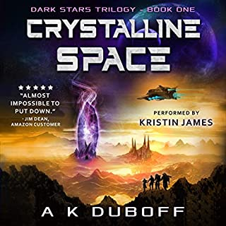 Crystalline Space audiobook cover art