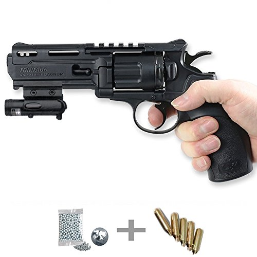 KIT revólver Umarex UX Tornado LÁSER - Pistola aire