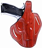 5. Anka Holster Concealed Carry OWB Premium Leather for Beretta 92|92F|92FS|M9|96|Brigadier|A1|FSR 22|G 92|92S Italian Police|96A1|90 Two