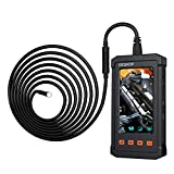 Automotive Industry Endoscope, 4.3inch LCD Screen 5.5mm 1080P HD Borescope Automotive Maintenance Inspection Tool Semi-Rigid Tube Waterproof and Oil Proof Inspection Camera(5FT)