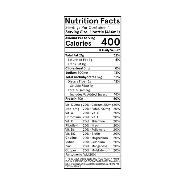 Health Shopping Soylent Cacao (Chocolate) Plant Protein Meal Replacement Shake, 14 fl oz, 12 Bottles