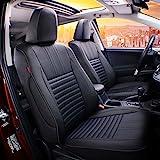 EKR Custom Fit Full Set Car Seat Covers for Select Toyota RAV4 LE 2013 2014 2015 2016 2017 2018 (NOT for EV OR Hybrid) -...