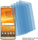 4ProTec I 4X ANTIREFLEX matt Schutzfolie für Motorola Moto E5 Plus Bildschirmschutzfolie Displayschutzfolie Schutzhülle Bildschirmschutz Bildschirmfolie Folie