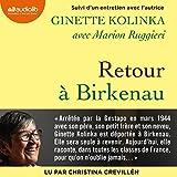 Retour à Birkenau - Suivi d'un entretien avec l'autrice - Format Téléchargement Audio - 13,45 €