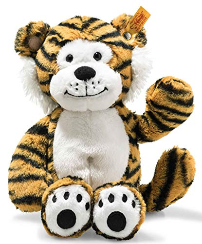 Steiff 66139 Soft Cuddly Friends Toni Tiger, gestreift