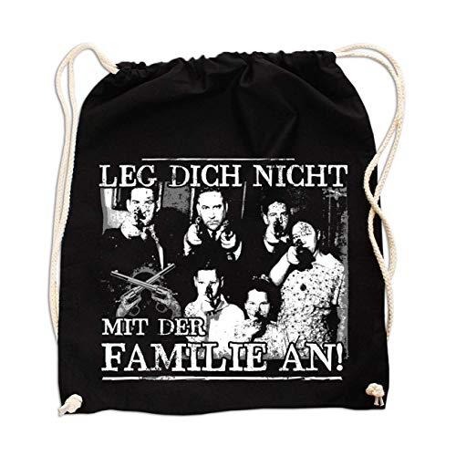 Rucksack La Familia Leg Dich Nicht mit der Familie an