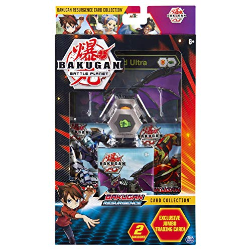 BAKUGAN, Deluxe Battle Brawlers Kartensammlung mit Jumbo-Folie, Garganoid Ultra-Karte, ab 6 Jahren
