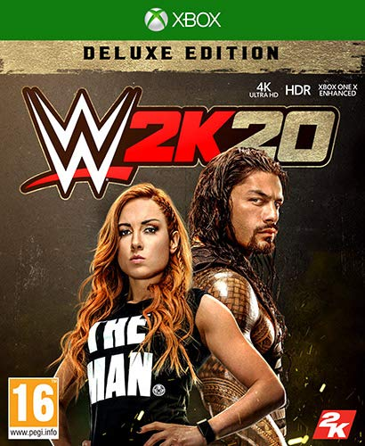 Jogo WWE 2K20 Deluxe Edition Xbox One