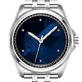personnalisé Montre Homme Mode Montre étanche Montre-Bracelet Diamant 644. Temps de Gym pour d'exercice et d'entraînement Motivation 002