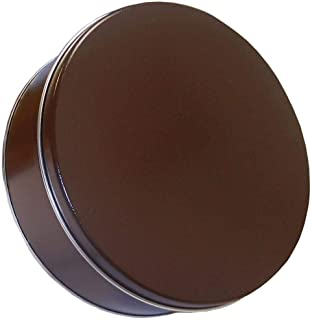 Scott's Cakes Small Empty Solid Brown Tin