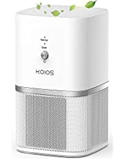 KOIOS Air Purifier for Home, Small Air Purifiers with True HEPA Filter, Air Cleaner for Bedroom Office 219ft², Remove Smoke Dust Pollen Pet Dander, Protable Odor Eliminator, No Ozone