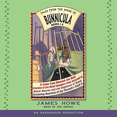 Tales From the House of Bunnicula: Books 1-4 audiobook cover art