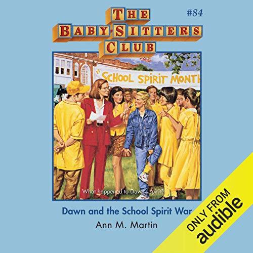 Dawn and the School Spirit War audiobook cover art