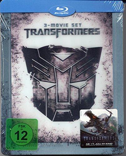 Transformers 1 - 3 (limited exklusiv Steelbook mit Lenticular Magnet) [Blu-ray]