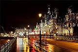 Rompecabezas Para Adultos 1000 Piezas 3D Hotel Paris Francia De Ville De Madera Montaje Personalizado