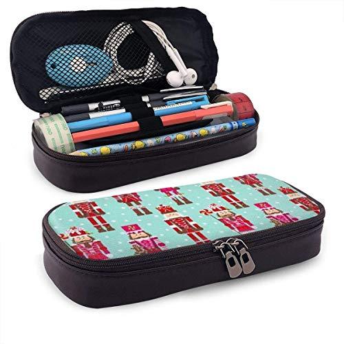 Make-up tas, soldaat notenkraker pennenzak, geschikte cosmetische make-up tassen voor studenten tieners, 20x9x4cm