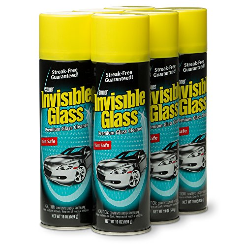 Invisible Glass 91166-6PK Premium Glass Cleaner,...