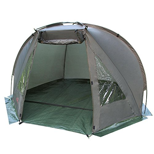 Magic3org Carp Fishing Bivvy Day Shelter Tent Quick Erect 1-2 man With Ground Sheet and Bag Outdoor Coarse Tackle