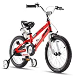 RoyalBaby Boys Girls Kids Bike Space No.1 Steel Cycle Bike Child's Bicycle 16 Inch Red