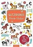 Glitzerspaß Pferde-Sticker: Über 250 Glitzersticker