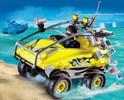 PLAYMOBIL® 4449 - Gangster-Amphibienfahrzeug