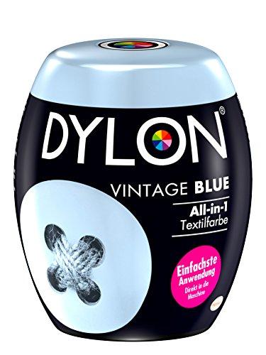 DYLON Vintage Blue All-in-1 Textilfarbe (für frische und intensive Farben) 1 x 350 g