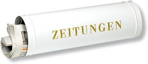 Burg-Wächter krantenrol met kunststof afdekking, voeding voor brievenbussen, 800 W, wit