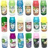 Airwick Freshmatic - Ricariche spray, da 250 ml (confezione mista da 6)