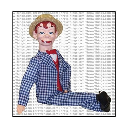 ThrowThings.com Mortimer Snerd Standard Upgrade Ventriloquist Dummy