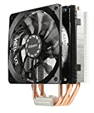 Enermax ETS-T40 Fit Outstanding Cooling Performance CPU Cooler 200W Intel/AMD 120mm Fan - Black/Silver, ETS-T40F-TB