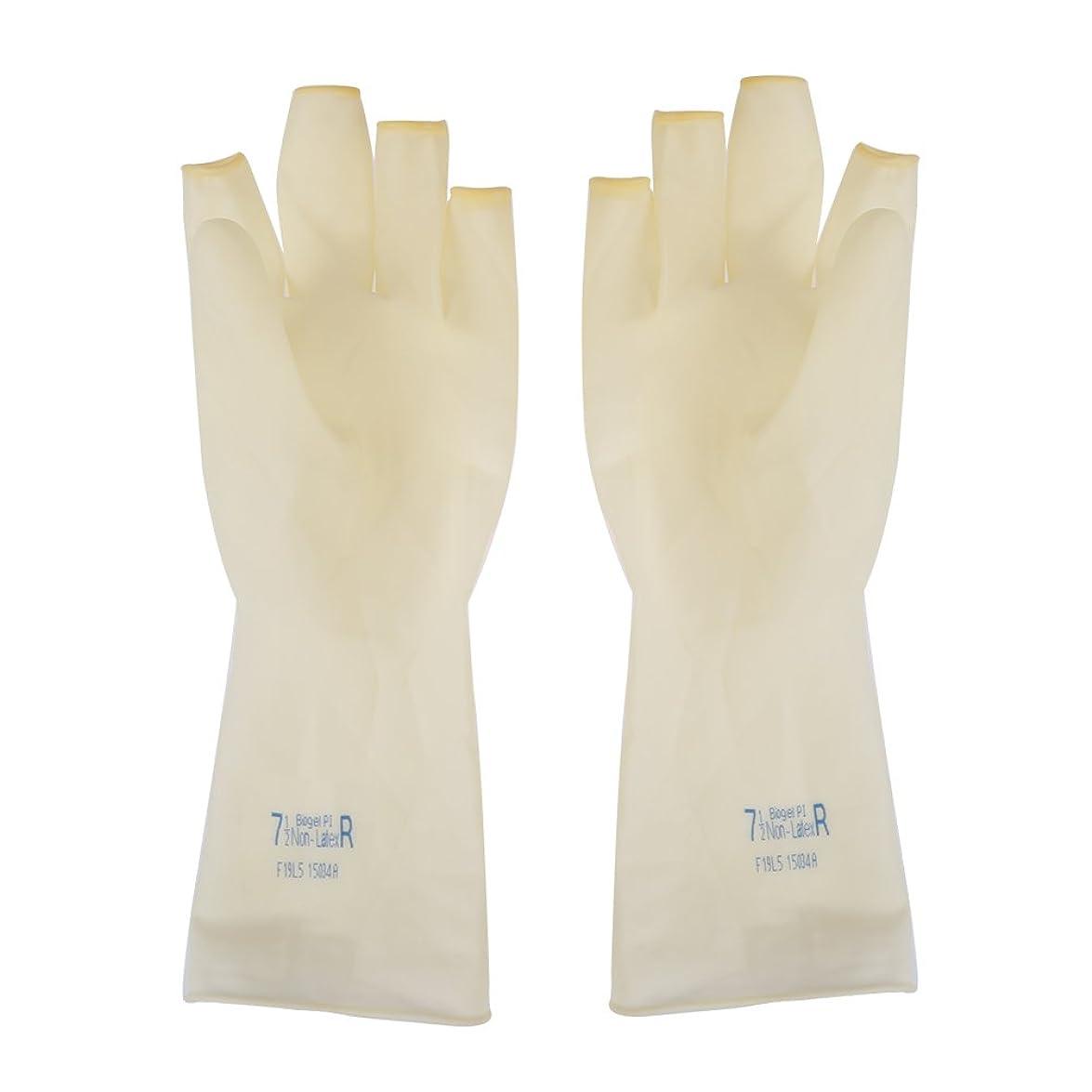 むちゃくちゃ権限エゴマニアAEdiea 1ペア ゴム手袋 ? 毛染め手袋 使い捨て 弾性 伸縮性 ヘアサロン サロンツール (M)