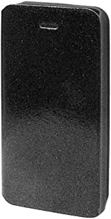 Cell Armor Hybrid Novelty/Diary Case for iPhone 5C - Retail Packaging - Glitter Black