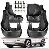 A-Premium Splash Guards Mud Flaps Mudguards Compatible with Honda CR-V 2012-2016 Front and Rear 4-PC Set