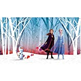 RoomMates Frozen Woodland Tree Peel and Stick Wallpaper Mural | Removable | Girls Room Decor