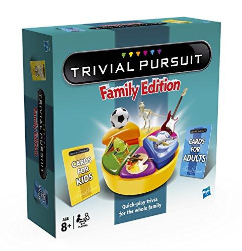 Hasbro - Trivial Pursuit Familia (versión en inglés): Amazon.es ...
