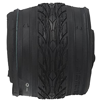 "Bell 7091022 Flat Defense Comfort Bike Tire, 26"" x 1.75-2.25"", Black"