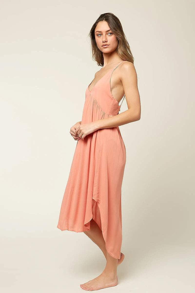 O'NEILL Women's Spaghetti Strap Midi Cover Up Dress
