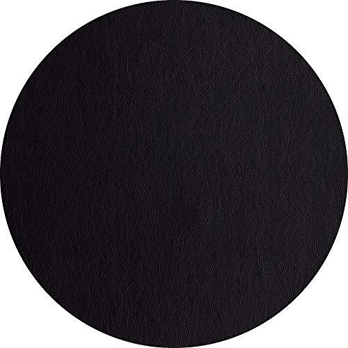 ASA Leder Tischset, PVC, schwarz, 38cm