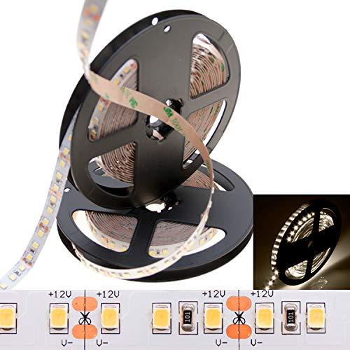 deutsche Marke DEMODU® - die PREMIUM LED 12V / 24V Streifen für professionelle Projekte und Profis - 5m Lichtfarbe weiß 5 Jahre Garantie (Neutralweiß 4000K, 12V)