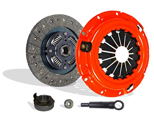 Clutch Kit Works With Mazda B2200 B2000 Mx-6 626 Capri XR2 BASE LE-5 SE-5 DX LX 2.0L l4 2.2L l4 GAS SOHC Naturally Aspirated 1.6L l4 GAS DOHC Turbocharged (Stage 1)