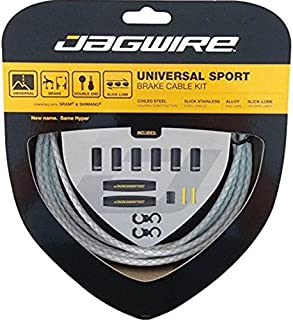 Jagwire Universal Sport Brake Cable Kit Braided White