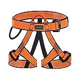 WILDKEN Arnés Seguridad para Escalada Protección de Caída Cintura Cadera Cinturón de Seguridad de Protección Guías de Montaña al Aire Libre Escalada para Alpina Bomberos Trepadores de Árboles