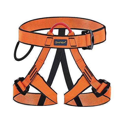 Wildken Mehrzweck Klettergurt Taille Hüfte Schutz Sicherheitsgurt Outdoor Bergführern Klettern für Bergsteigen Hallenklettern Feuerwehr Baumklettern