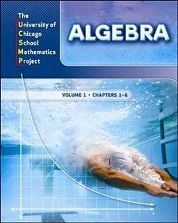 Algebra, Chapters 1-6, Vol. 1 (UCSMP Advanced Algebra) by Zalman Usiskin (2007-03-30)