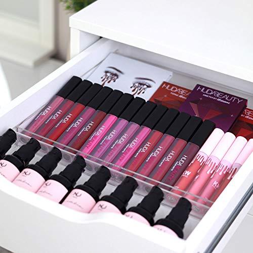 TidyUps Display Tray | Makeup-Organizer passend für IKEA Alex 5 oder 9 | Für Lipgloss & mehr