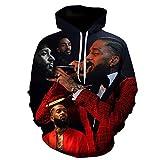 CCEE 90s Rapper 2Pac Tupac/Bob Marley 3D Printed Men Hoodie Harajuku Street Hip Hop Sudadera Unisex Casual Hoodies Sudadera Hombre