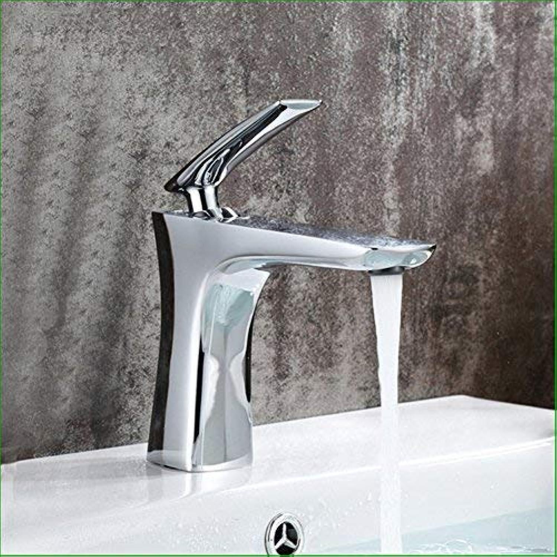 ZHAS Wasserhahn vollkupfer Chrom Wasserhahn Becken hei kalt Wasserhahn waschbecken badezimmerschrank Wasserhahn