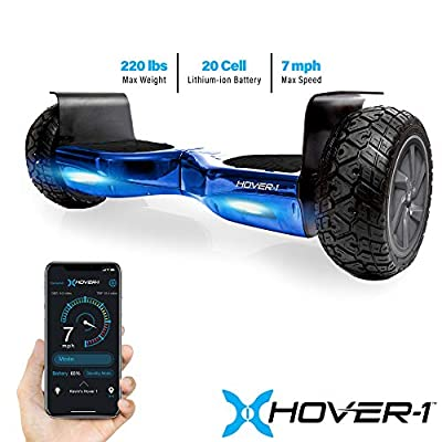HOVER-1 HY-NOMD-BLU Nomad Hoverboard All-Terrain Electric Scooter, Blue