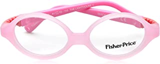 Fisher-Price FPV18 Two-Tone Oval Medical Glasses for Kids - Light Pink and Pink